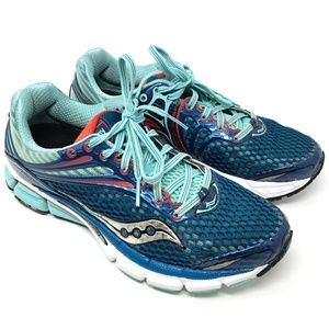 Saucony 10223-2 Power Grid Running Shoe 8.5 Teal